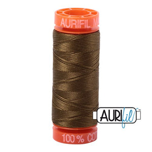 Dark Olive Aurifil Cotton Thread (4173)