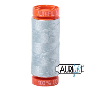 Light Grey Blue  Aurifil Cotton Thread (5007)