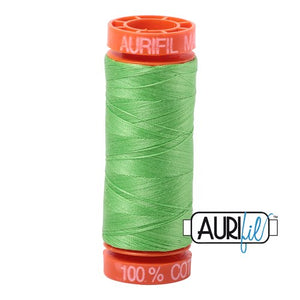 Shamrock Green  Aurifil Cotton Thread (6737)