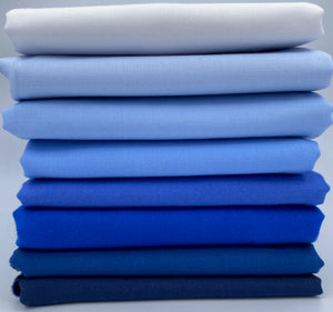 Individual Fat Quarters - Blue Hues