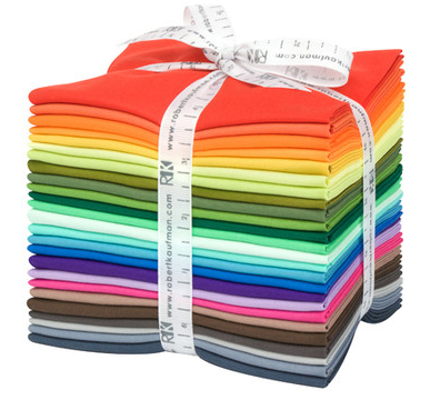 25 New KONA Colours Fat Quarter Bundle