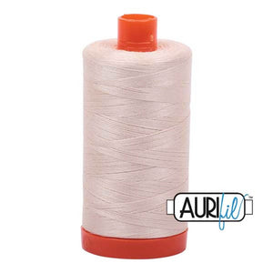 Light Sand Aurifil Cotton Thread Large Spool (2000)