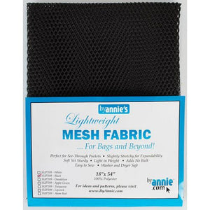 BY Annie Mesh Fabric in Black