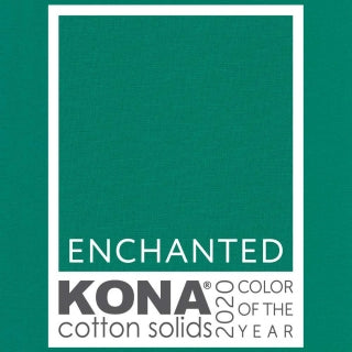 Enchanted  KONA Cotton Colour of the Year 2020