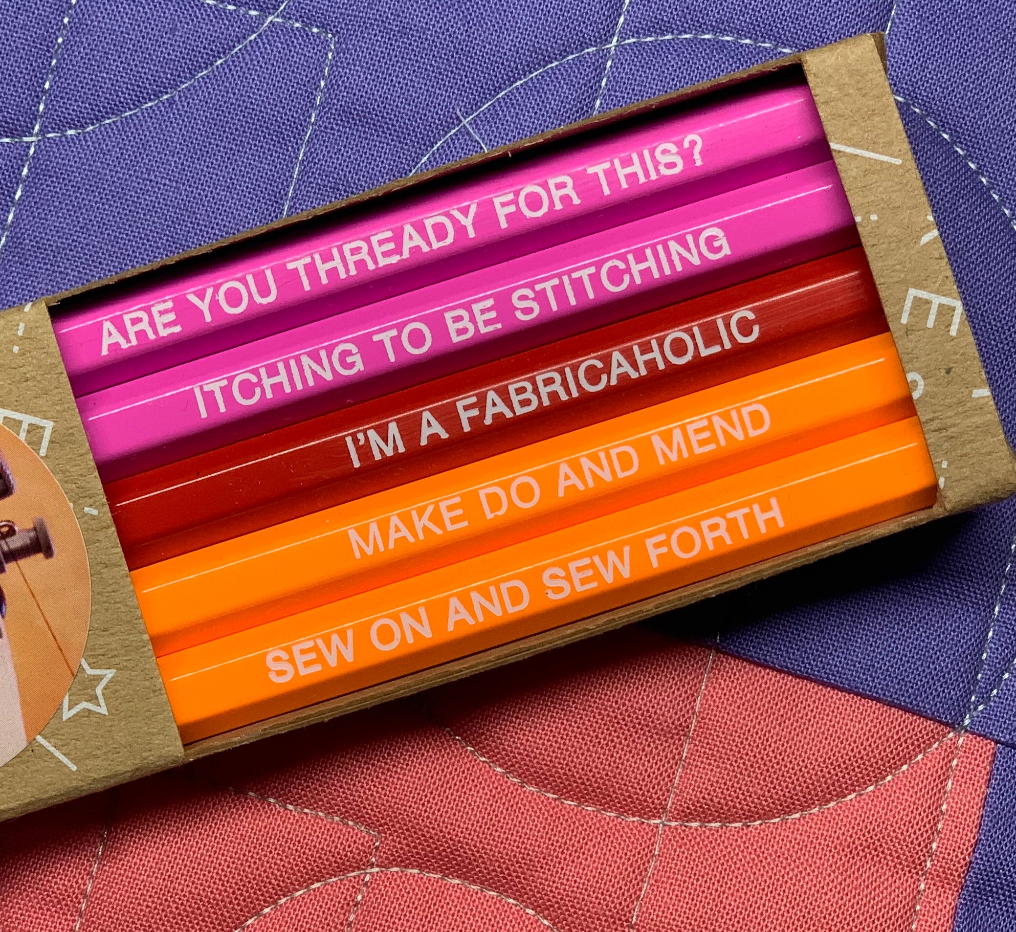 Sewing Pencil Set by Emma Makes