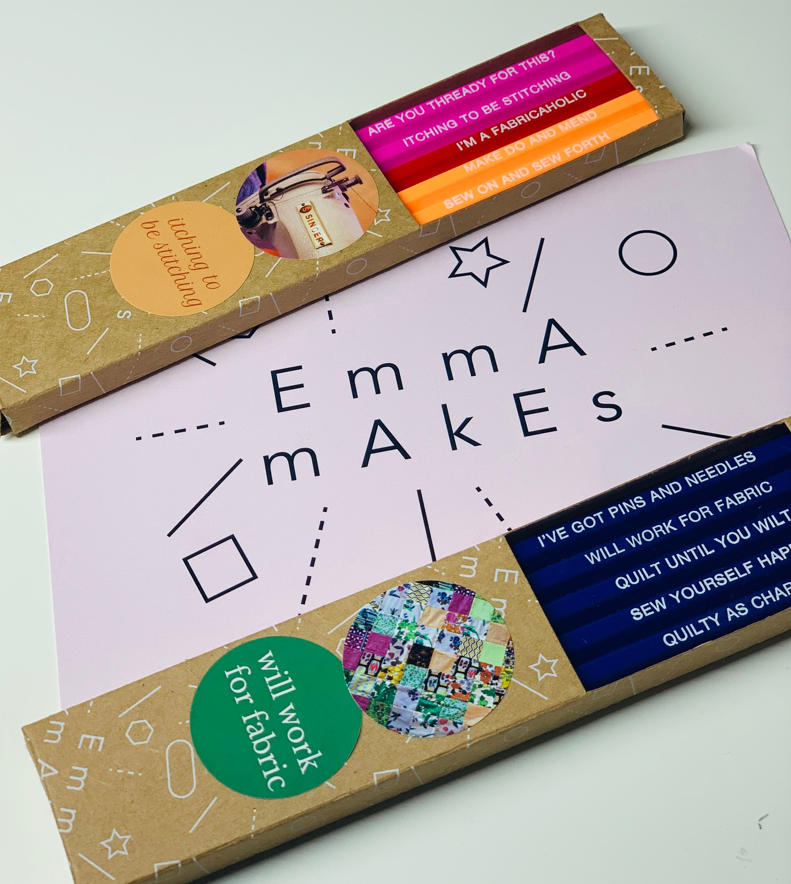 Quilter's Pencil Set by Emma Makes