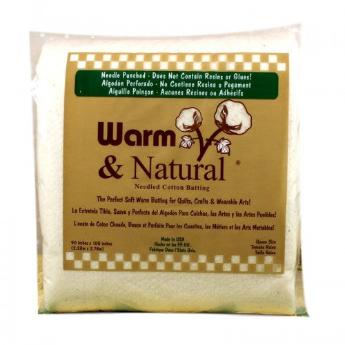 QUEEN Size Warm and Natural Batting