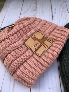Kids Patch Beanies