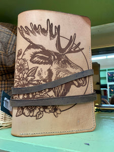 Moose floral journal