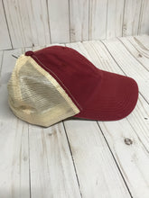 Load image into Gallery viewer, D &Y burgundy snapback