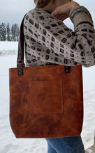 Load image into Gallery viewer, Copper rustic full sized tote