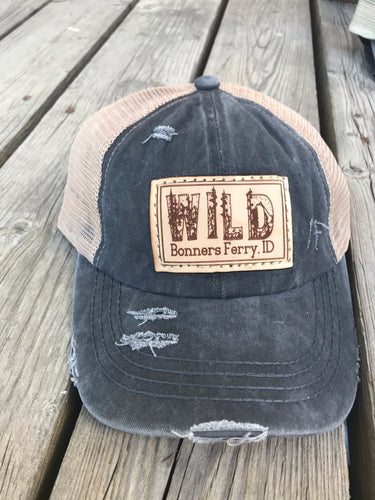 WILD Bonners Ferry Patch Hat