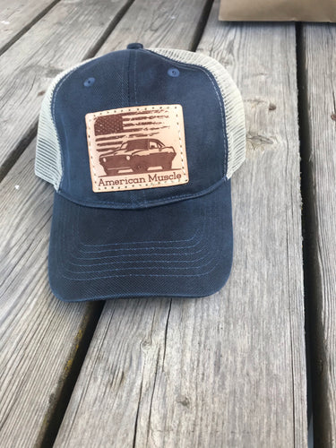 American Muscle Patch Hat
