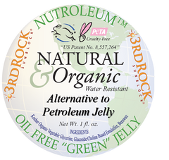 Nutroleum - Petroleum Jelly Alternative - Water Resistant