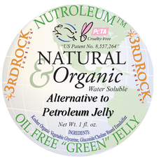 Nutroleum - Petroleum Jelly Alternative - Water Soluble