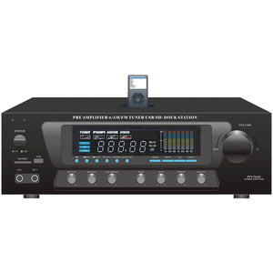 Pyle Home 30-watt Stereo Am And Fm Receiver With Ipod Dock PYLPT270AIU