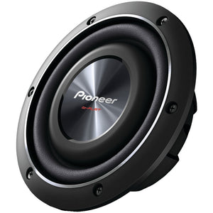 "Pioneer 8"" 600-watt Shallow-mount Subwoofer With Dual 2ohm Vo"