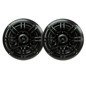 Milennia SPK652B 6.5, 2-Way Marine Speakers - 150W - Black