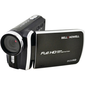 Bell+howell 20.0-megapixel 1080p Dv30hd Fun Flix Slim Camcorder (black