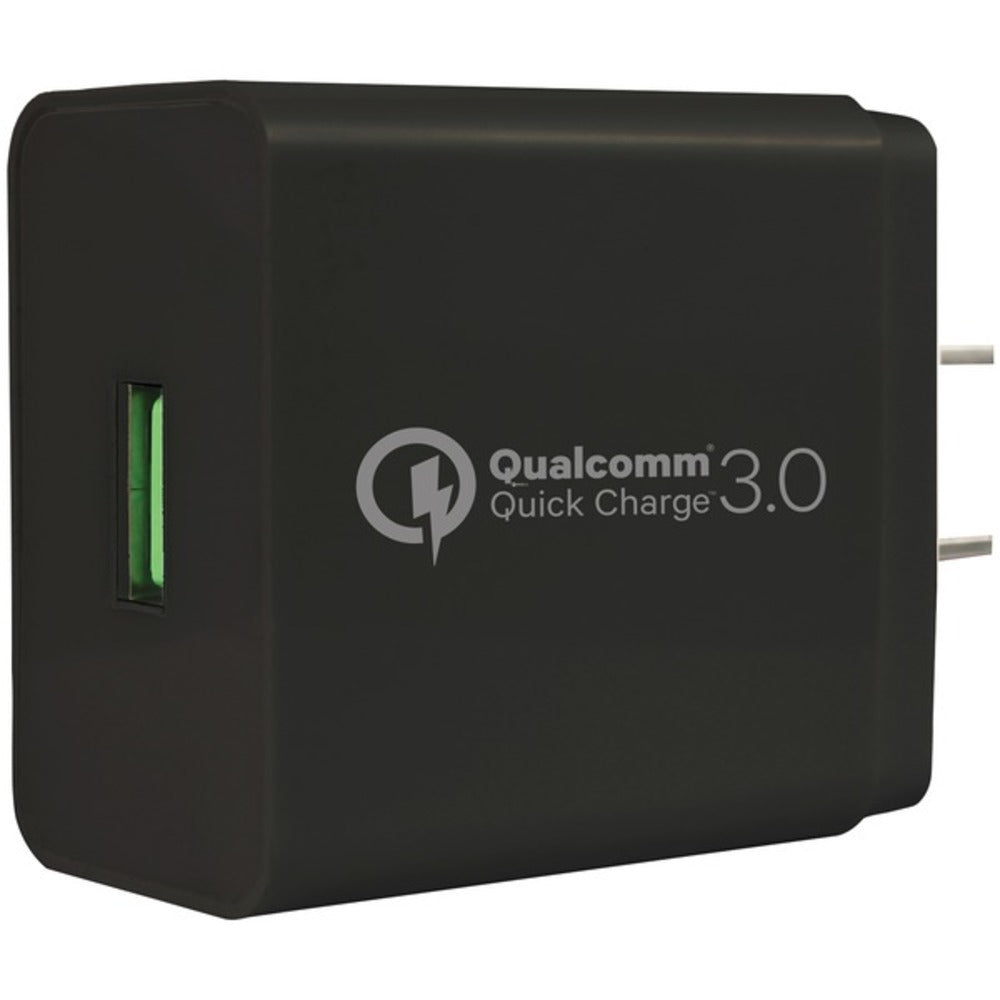 Gigastone(R) GS-GA-8121B-R Wall Charger with Qualcomm(R) Quick Charge(