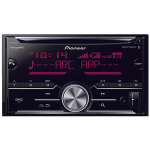 Pioneer Double-din In-dash Cd Receiver With Bluetooth & Sirius
