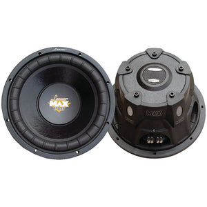 "Lanzar Maxpro Series Small 4ohm Dual Subwoofer (15"", 2&#4"