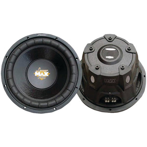 "Lanzar Maxpro Series Small 4ohm Subwoofer (8"", 800 Watts)"