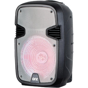"Qfx 12"" Rechargeable Bluetooth Party Speaker QFXPBX1205SLV"