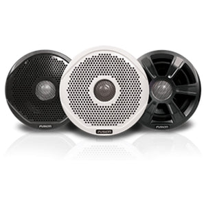 FUSION FR6022 6 Round 2-Way IPX65 Marine Speakers - 200W - Pair w/3 Sp