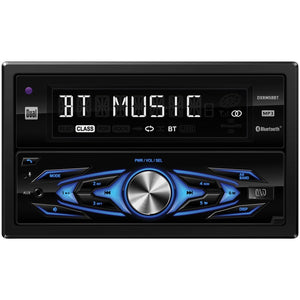 Dual Double-din In-dash Mechless Am And Fm Receiver With Bluetooth DUL