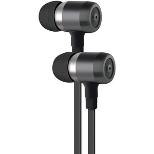 At&t Pe50 In-ear Stereo Earbuds With Microphone (gray) WACPE50