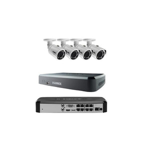 Lorex LNR118 Series HD Security 8-Channel DVR and 4x 3MP Cameras LNR11