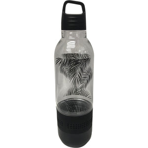 Sylvania Holographic Light Water Bottle With Integrated Bluetooth Spea