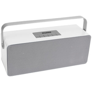 Sylvania Portable Bluetooth Speaker With Aluminum Handle (white) CURSP