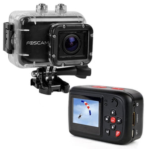 Foscam AC1080 Full HD 1080p Sports Action Camera w/WaterproofHousing m