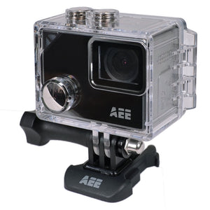 AEE LYFE Silver 4K Action Camera w/Time Lapse, Slow Motion, 1.