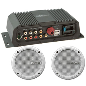 Lowrance Sonichub® Marine Audio Server w/6.5 Speakers