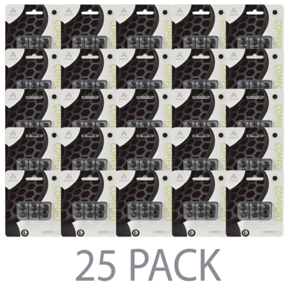 (25-Pack) Comply Comfort Premium Memory Foam Ear Tips for JaybirdEarbu