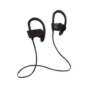 UNIVERSAL SPORT BLUETOOTH HEADPHONES WITH HD SOUND QUALITY AND SWEAT P