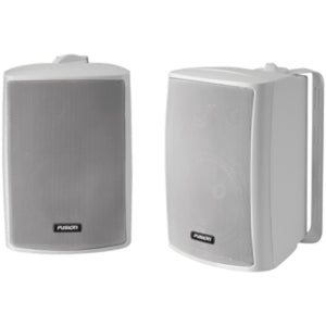 FUSION 4 Compact Marine Box Speaker - (Pair) White