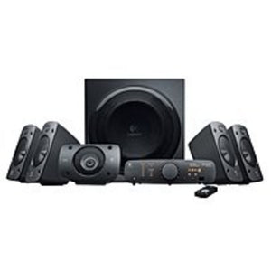 Logitech 980-000467 Z906 5.1 Surround Sound Speaker System - Active -