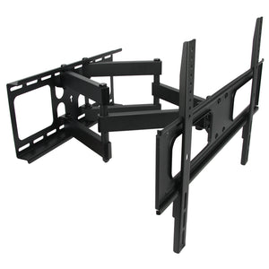 MegaMounts Full Motion Double Articulating Wall Mount for 32 to 70 Inc