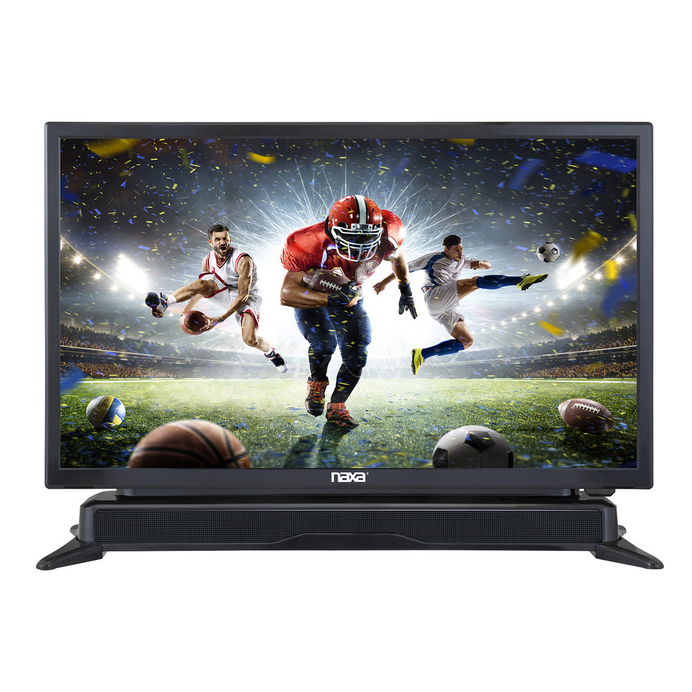 "Naxa 24"" Class LED TV with DVD Player and Built-in Soundbar"