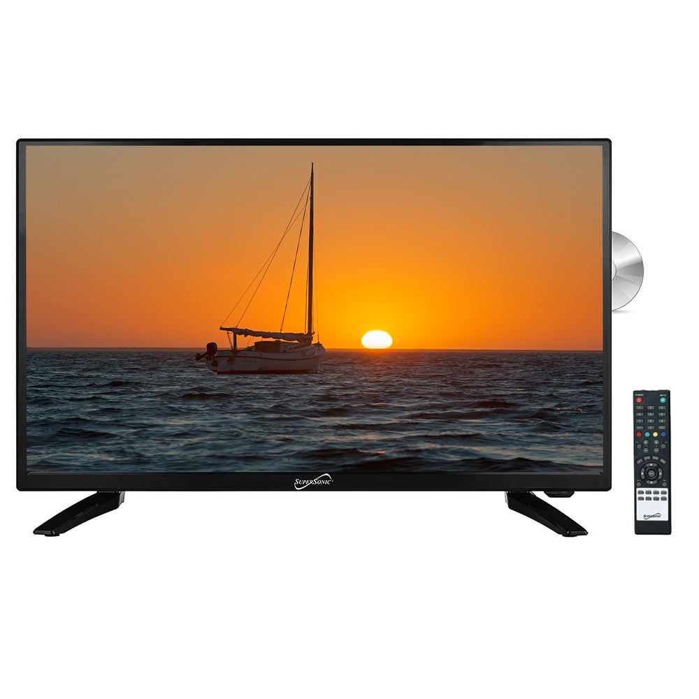 Supersonic 32 Inch LED HDTV with Built in DVD Player
