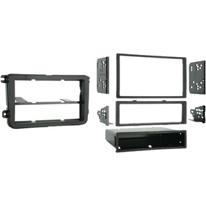 Metra 99-9011 Single- or Double-DIN Installation Multi Kit for 2005 and Up Volkswagen