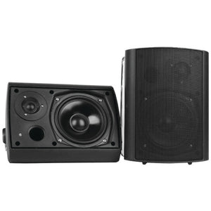 "Pyle Home PDWR62BTBK 6.5"" Indoor/Outdoor Wall-Mount Bluetooth Speaker System (Black)"