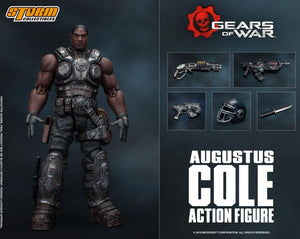 Storm Collectibles Gears of War Augustus Cole 1/12 Scale Figure
