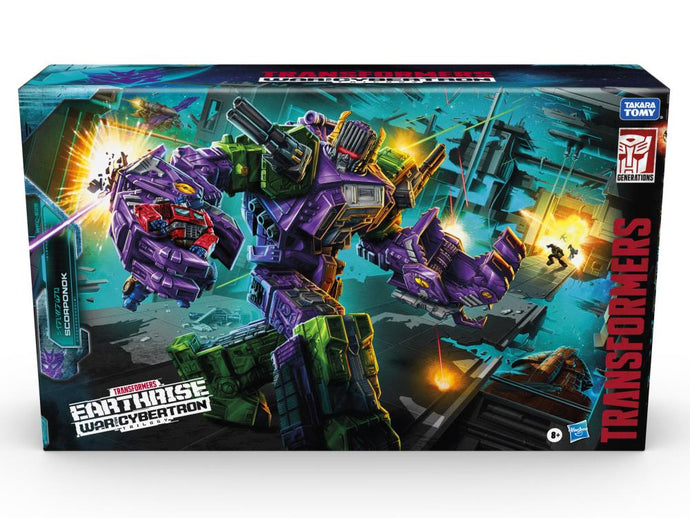 Transformers War for Cybertron: Earthrise Titan Scorponok Pre-Order*