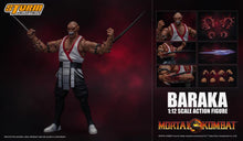 Load image into Gallery viewer, Storm Collectibles Mortal Kombat VS Series Baraka 1/12 Scale Figure