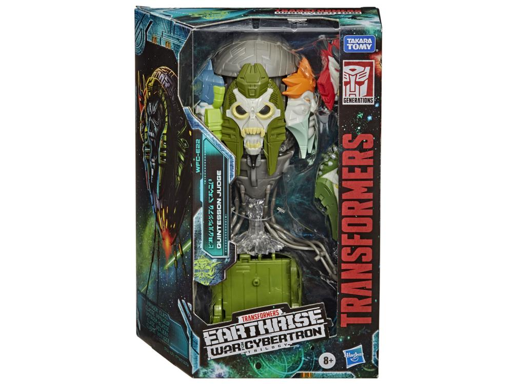 Transformers War for Cybertron: Voyager - Earthrise Quintesson Judge WFC-E22